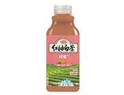 中沃�t柚白茶�w�S果汁茶�料500ml