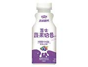 中沃生命�I�B芝士蔬果奶昔混合莓�l酵型含乳�品350ml