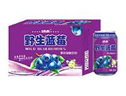 妙虎野生蓝莓果味碳酸饮料