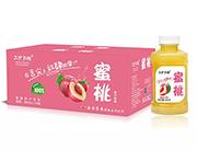 三分天地蜜桃果汁�料箱�b380ml×15瓶