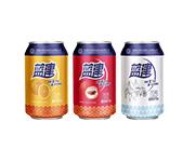 蓝津各种口味碳酸饮料汽水