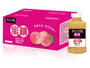 东汇庄园蜜桃复合果汁380mlx15