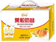 果粒奶昔�S桃+燕��+椰果口味�品
