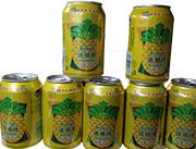 菠萝啤果味碳酸饮料320ml