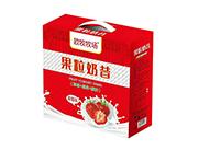 欧?#32842;?#22330;草莓椰果果粒酸奶奶昔礼盒