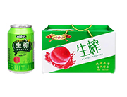 岫玉山生榨蜜桃果汁�料310ml×10
