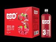 百芝源1.5l杨梅复合果汁外箱
