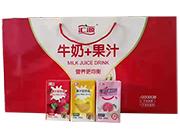 牛奶+果汁礼盒