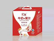 牛奶+果汁箱装