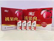 桃果肉饮品礼盒