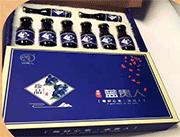 蓝贵人蓝莓汁礼盒装