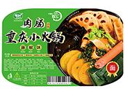 藤椒味肉肠重庆小火锅面