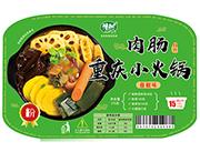藤椒味肉肠重庆小火锅粉