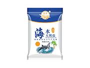燕晶加碘海水天然盐400g