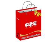 中老年红色礼盒
