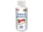 希幕奶昔发酵型酸奶饮品草莓味310ml
