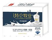特伦牧业黑芝麻核桃高钙复合蛋白饮品250mlx12