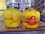 孟康黄桃罐头1.25kg