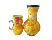 唐小柚黄桃罐头 什锦罐头520g