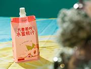 贝花子大麦若叶水蜜桃汁