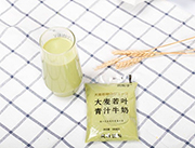 贝花子大麦若叶青汁牛奶180毫升