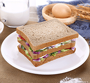 岱香�@代餐黑��面包