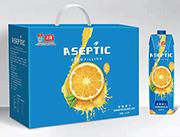 发酵橙汁箱装1Lx6支