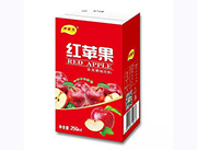 伊丽澳红苹果果味饮料250ml