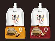 聚朋有老北京石墨豆奶 原味和�t��口味