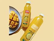 全球优果冷榨芒果益生菌发酵果汁饮料