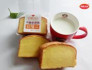 快乐小站奶黄切片原味蛋糕