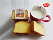 快乐小站奶黄切片原味蛋糕散称