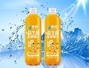 奥尚橙子风味益生菌发酵复合果汁饮料1.5L
