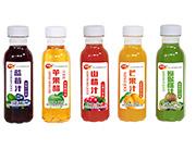 顶真果园各种口味果汁瓶装
