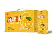 鲜橙汁风味饮品250ml