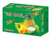 极智果肉三合一热带水果味饮料240ml箱装