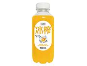冰榨芒果味益生菌复合果汁饮料410ml