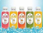 冰榨益生菌复合果汁饮料410ml