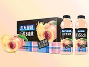 东方量健冷榨水蜜桃果汁饮料550ml×15瓶