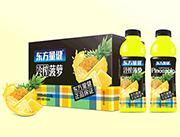 东方量健冷榨菠萝果汁饮料550ml×15瓶