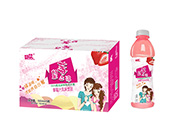 好梦望莓止渴草莓汁风味饮品550mlX15瓶