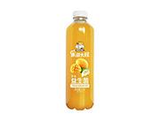 果园大叔芒果味益生菌复合果蔬汁饮料1.1L