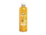 果园大叔橙味益生菌复合果蔬汁饮料1.1L