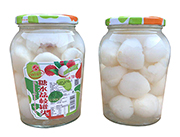 桂钦糖水荔枝罐头730g