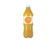 北美大甜橙果汁饮料瓶装(正面)