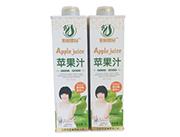 农树果园苹果汁饮料1L