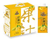 金果郎生榨芒果汁饮料1000ml×6瓶