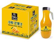 华宝圣园冷榨芒果汁1.5L×6瓶