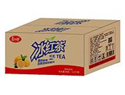 喜太郎冰红茶果味饮料1L×12瓶