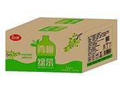 喜太郎青梅绿茶果味饮料1L×12瓶